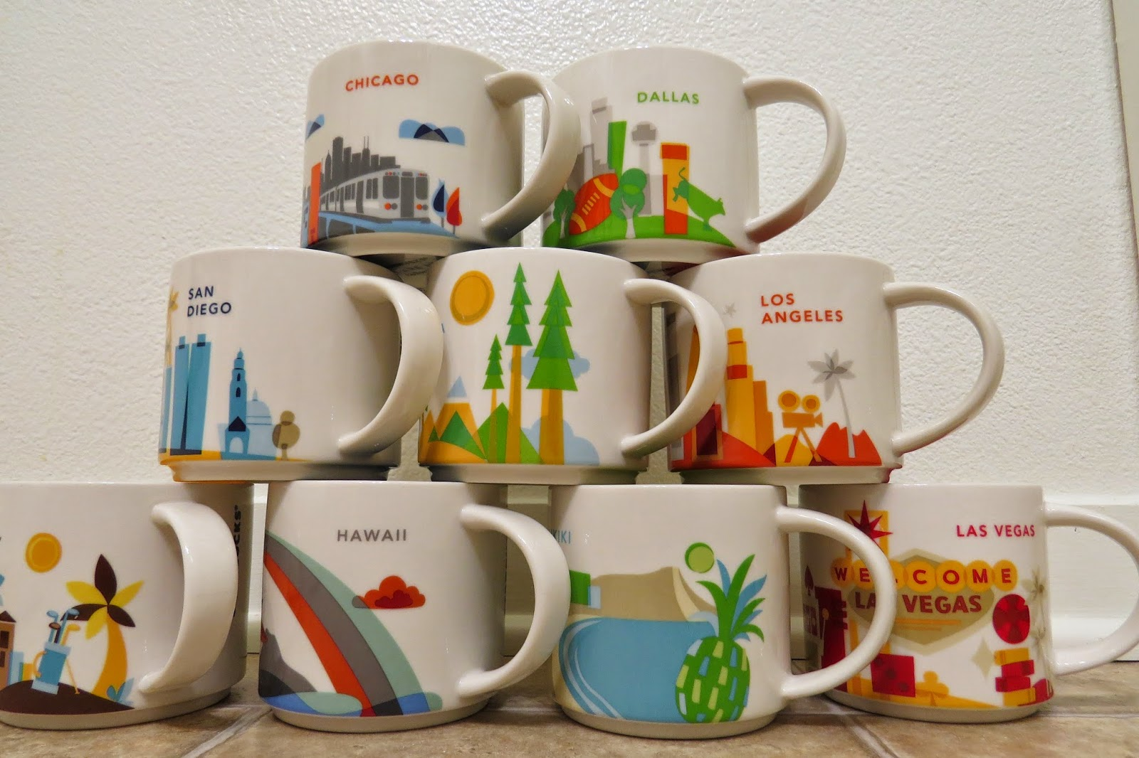 Starbucks You Are Here Collection Mug - Dallas | It has ...