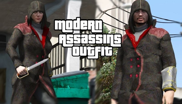 MOD Seragam Assassin Modern