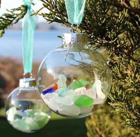 22 Handmade Coastal Beach Christmas Ornaments Coastal Decor Ideas