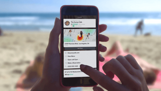 Snapchat Introduced New 'Context Cards' Feature : Get it Right Now