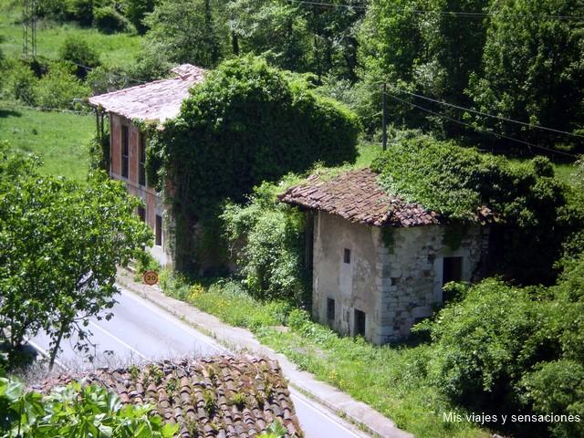 Caranga de abajo, La senda del oso, Asturias