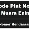 Kode Plat Nomor Kendaraan Muara Enim