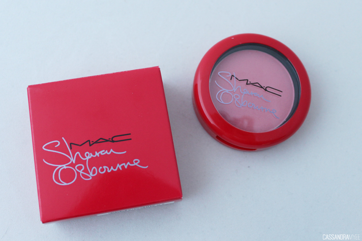 MAC COSMETICS // Osbourne Collection - Sharon Peaches & Cream Powder Blush - cassandramyee