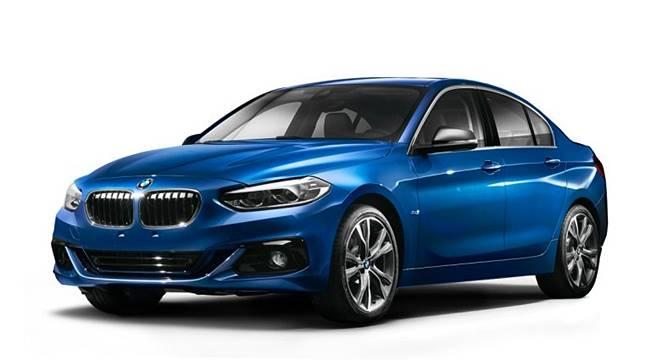 2017 BMW 1 Series Sedan (F52)