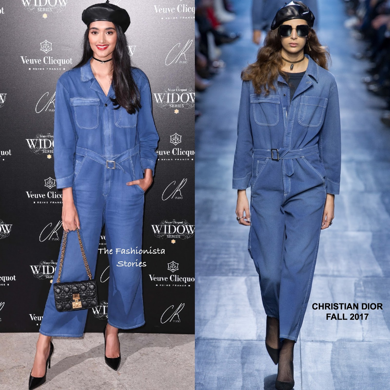 598da0f72aa1 Neelam Gill in Christian Dior at the Veuve Clicqout Widow Series Party