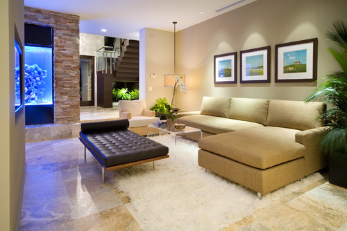 2014 comfort modern living room decorating ideas - Modern family room design ideas ...