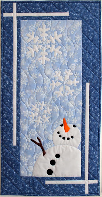 Let It Snow by QuiltFabrication