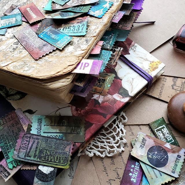 @nastyalena #scrapbooking #mixedmedia #papercraft #mimicut