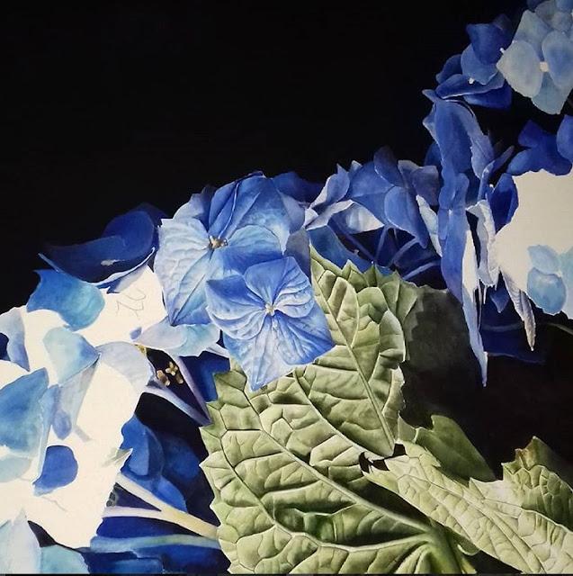 Botanical Art Hydrangea