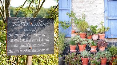 L'Ortie Culture. Peonías y hortalizas a partes iguales