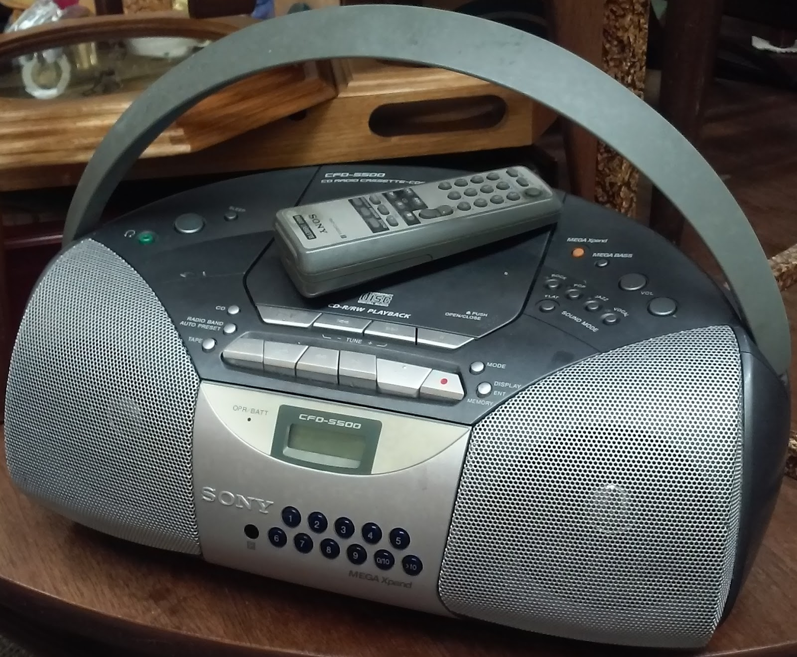 Vw Oakland Service >> UHURU FURNITURE & COLLECTIBLES: SOLD Sony Boombox with ...