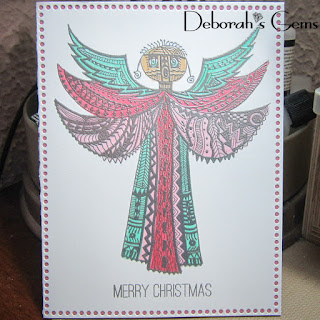 Christmas Angel sq - photo by Deborah Frings - Deborah's Gems