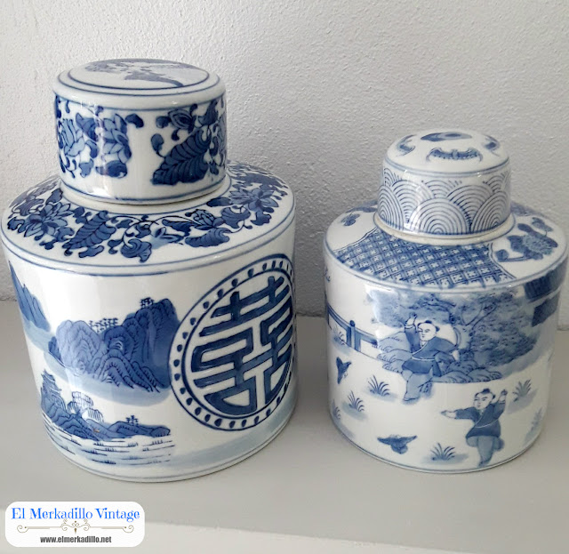 Tibor de cerámica Mod.Macao