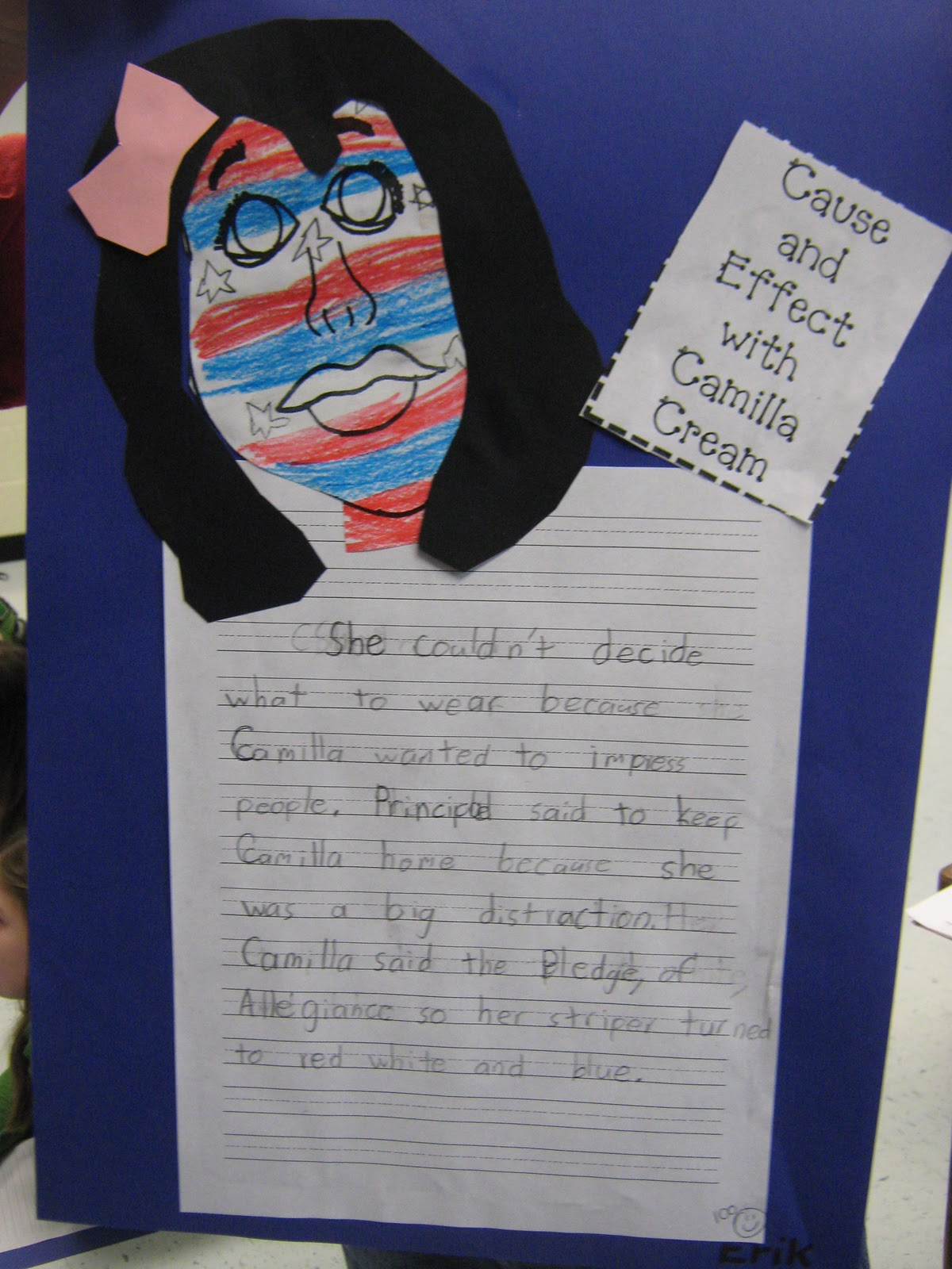 Mrs Truett S 3rd Grade Camilla Cream Cause And Effect