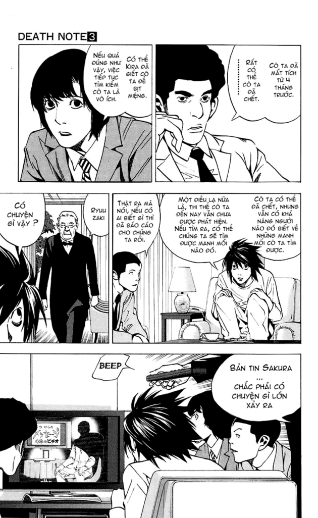 Death Note chapter 023 trang 4