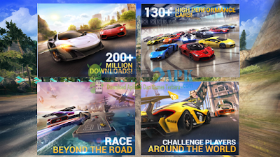 Game Asphalt 8 Airbone Terbaru Apk Mod Unlimited