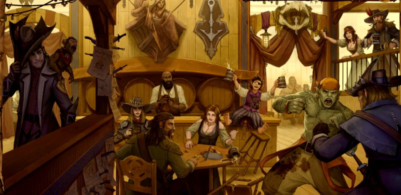 Dreamy Fantasy Pirates Scene Artwork Wallpaper Wallpapers