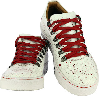 Alberto Torresi Valencia WHITE+RED Casual Shoes. Price- Rs. 2,095