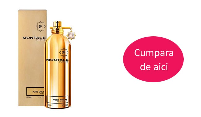 Parfum Pure Gold femei - Montale Paris - REDUCERE