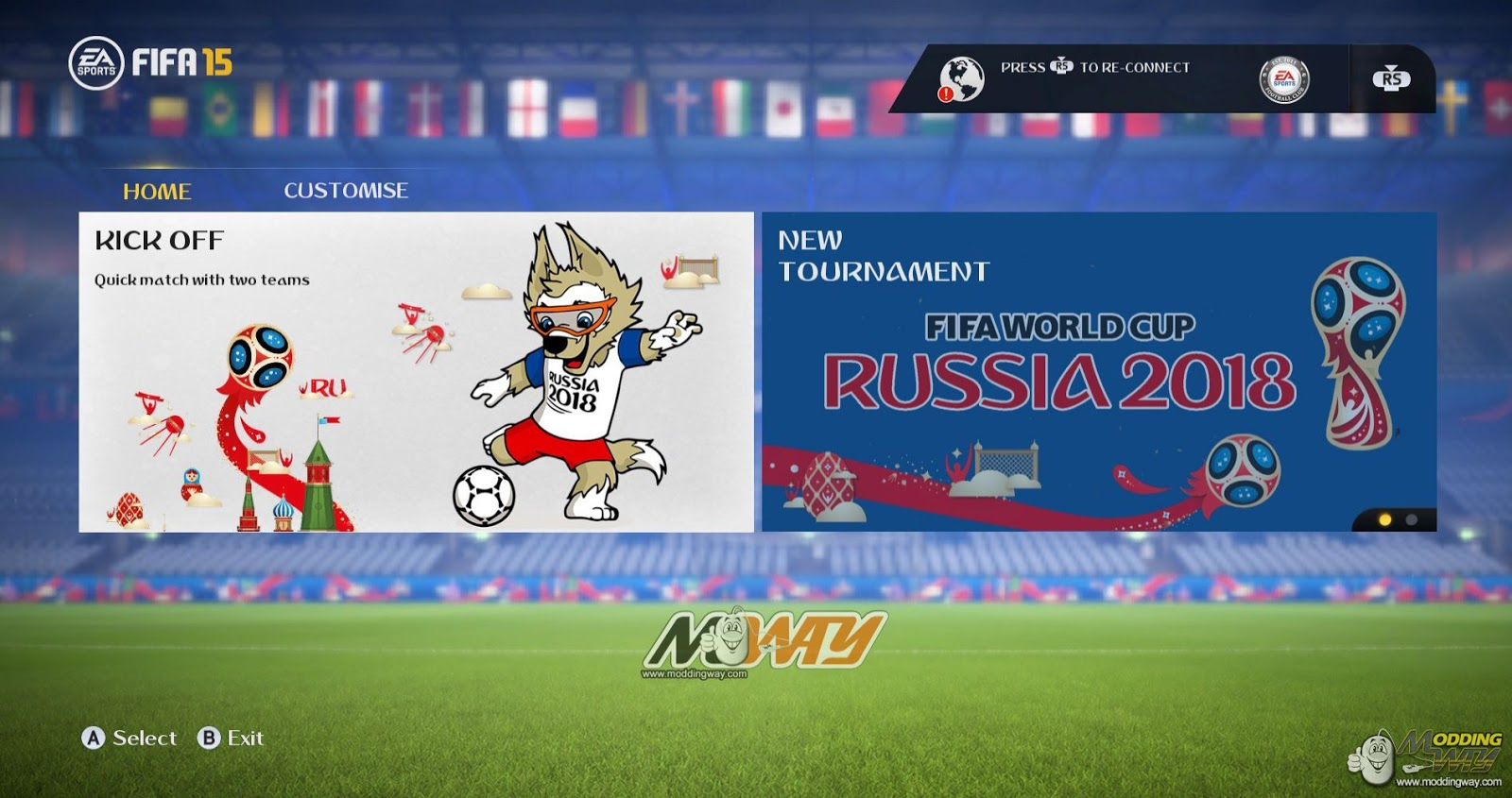 FIFA 15 ModdingWay Mod Update 20 0 0 World Cup 2018 Edition