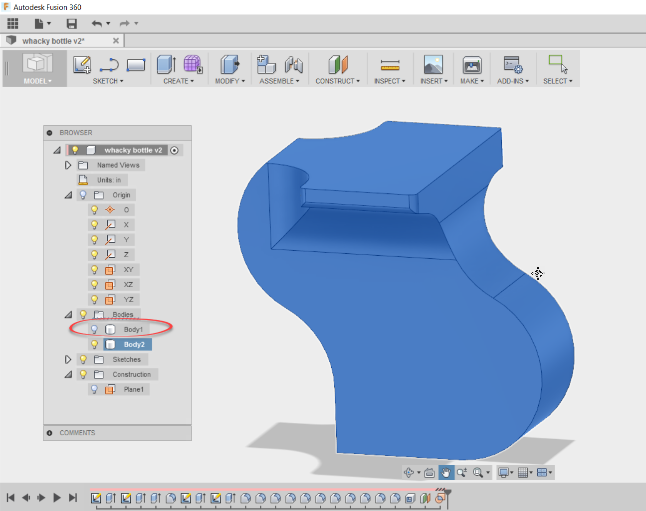 Finding Internal Volumes Using Autodesk Fusion 360 - A Nice