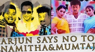 Arjun says no to Namitha, Mumtaj? | Movie Nights | Sollividava | Black Sheep