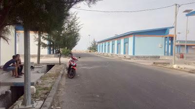 Wisata Bom Anyar; Pelabuhan Perikanan Brondong Lamongan, tempat untuk berolahraga dan rekomendasi tempat bersantai.
