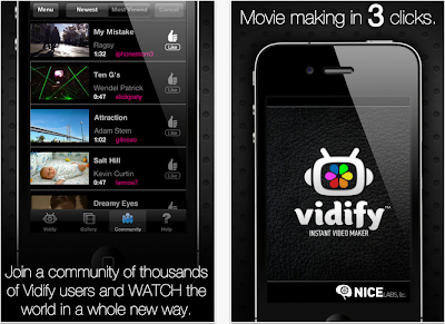 vidify app for iPhone