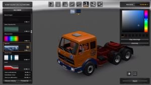 Truck - Mercedes NG1631 Deutrans V 2.0