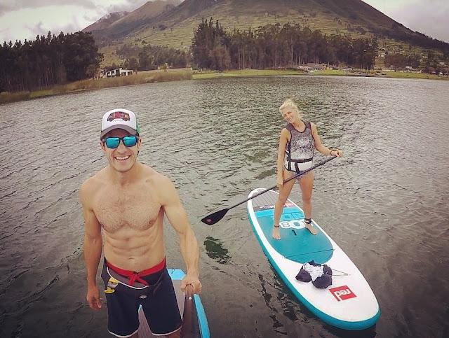 Paddleboard Lago-San-Pablo
