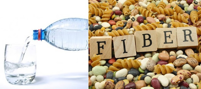 Why your body needs water and fiber?