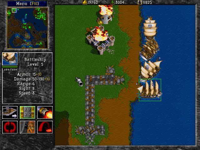 Warcraft 2 Battleship Screenshot