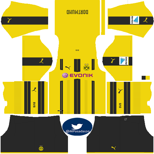 Ammco bus : Borussia dortmund fts 15 kits