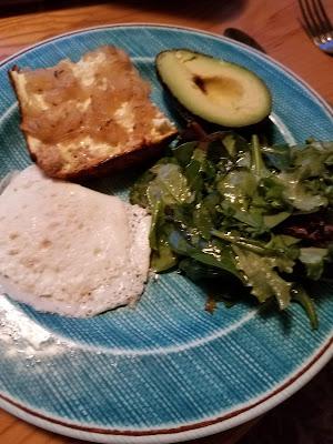 Onion Supper Bread, onions, Feta and a savory sour cream custard.