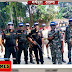 कमांडो दस्ते ने हेलमेट लगाकर किया प्रदर्शन ताकि लोग हो सकें और जागरूक