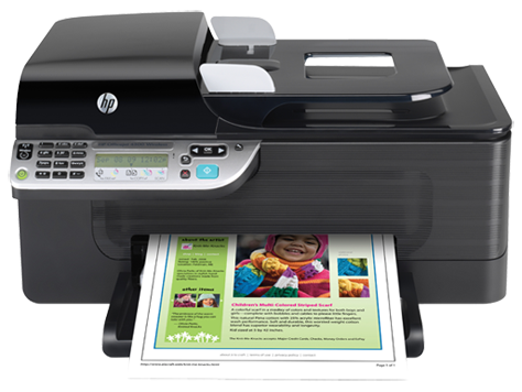 Hp officejet 4500 all-in-one printer drivers download.