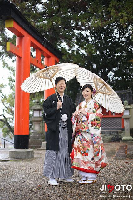 奈良で前撮りロケーション撮影