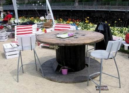 si te atreves y tienes tiempo para un poco de bricolaje algo ms complicado tambin puedes disear mesas y sillas las formas y la madera de