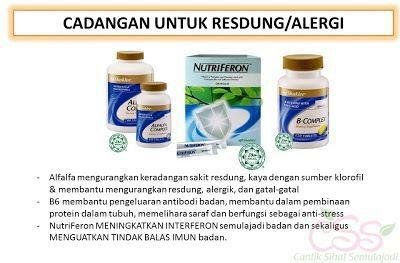 Suplement untuk resdung dan alergi