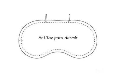 Patrón antifaz