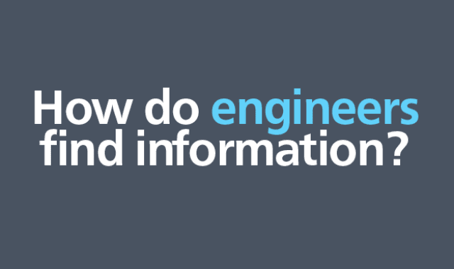 How Engineers Find Information