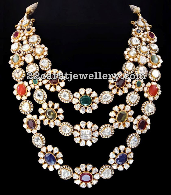 Latest jewellery designs by SRJ