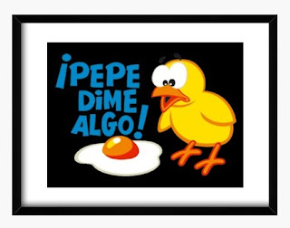 Pepe dime algo chicken and egg print by Tostadora