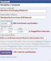 Cara Membuat Facebook di Opera Mini