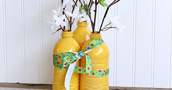 Plastic bottle crafts ideas arts and crafts projects for Bottle arts and crafts