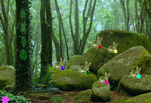 Games2Rule Rock Lush Forest Escape