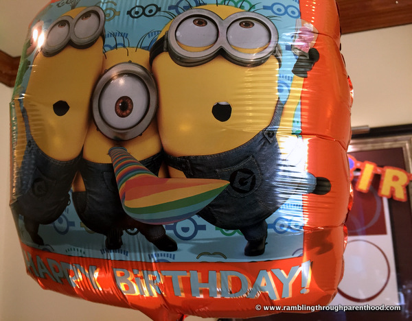 Minions Despicable Me 17in Happy Birthday Foil Balloon