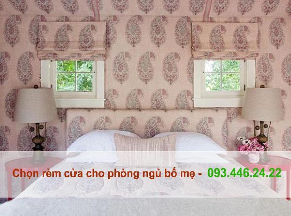 Chọn rèm cửa cho phòng ngủ bố mẹ