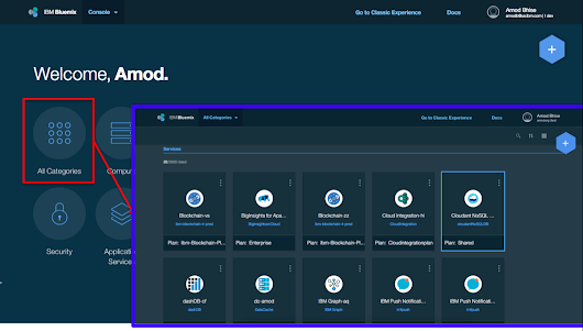 The New Bluemix Look