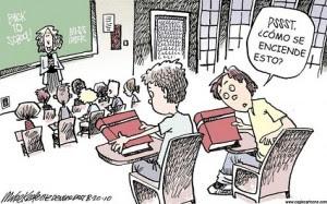 El futuro de la quema de libros - Analfabetismo funcional